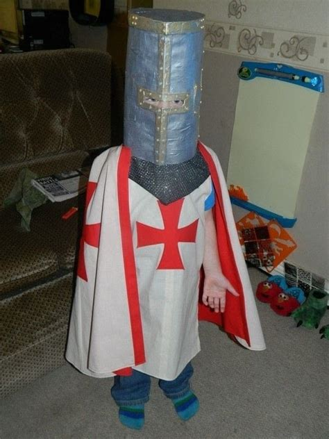 childrens knight templar costume     full