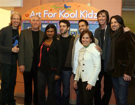 mindy kaling parents the office tom scholz in kidz b kidz launch party at children s