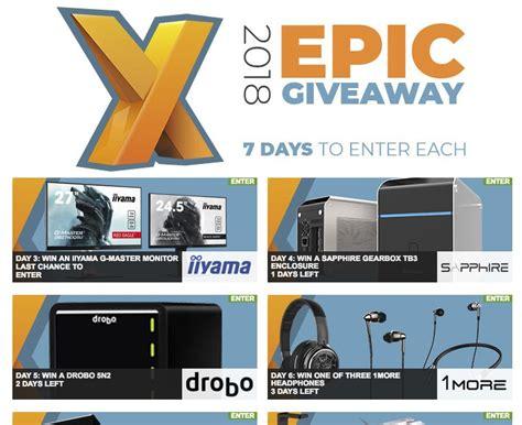 epic electronic giveaway