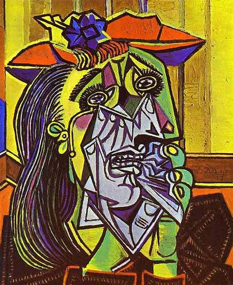 picasso paintings dimensions pablo picasso weeping 1937