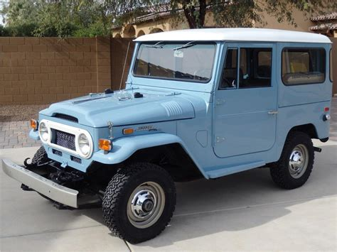 1971 Toyota Land Cruiser 1971 Toyota Land Cruiser Fj 40 2 Door Hardto Barrett