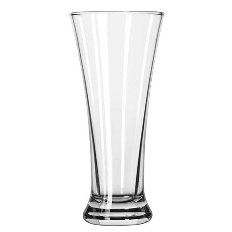 Pilsner Glass 9 Oz Gelas Kaca Gelas Gelas Softdrink Jus libbey 18 11 oz flared pilsner glass safedge guarantee