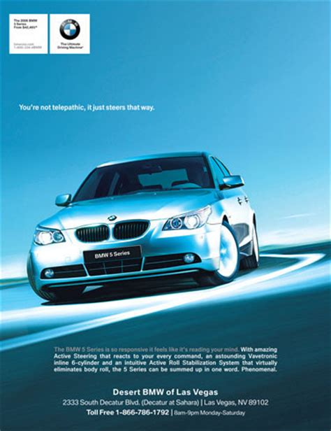 bmw magazine ads bmw ads 06 on behance