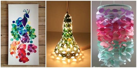 top  paint chip diy projects  home decoration