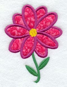 Free Applique Quilt Patterns Flowers by Free Flower Applique Patterns Appliq Patterns