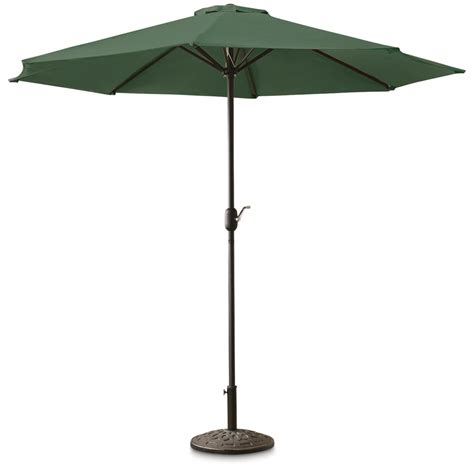 Patio Umbrella Guide Castlecreek 9 Market Umbrella 678518 Patio Umbrellas