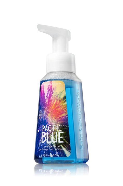 Bathtub Foam Soap by Bath Works Pacific Blue Anti Bacterial Gentle Foaming Soap