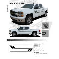 Truck Accessories For Cing Track Xl Decals Graphic Vinyl Stripes Fit 2013 2018 Chevy