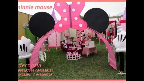 decoracion minnie mouse minnie mouse decoraciones de fiestas infantiles minnie