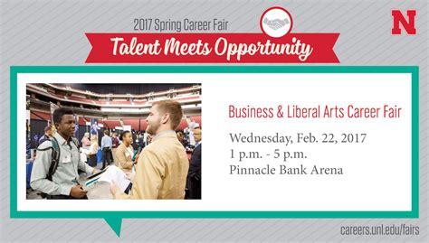 Of Nebraska Mba Career Fair by Business Liberal Arts Career Fair Wednesday February
