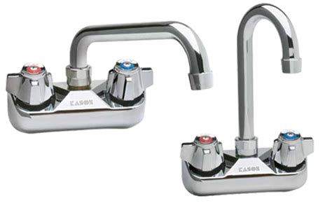 Kason Faucet by Kason Industries 0457kl4000 Series 4 Quot Wall Mount Faucets