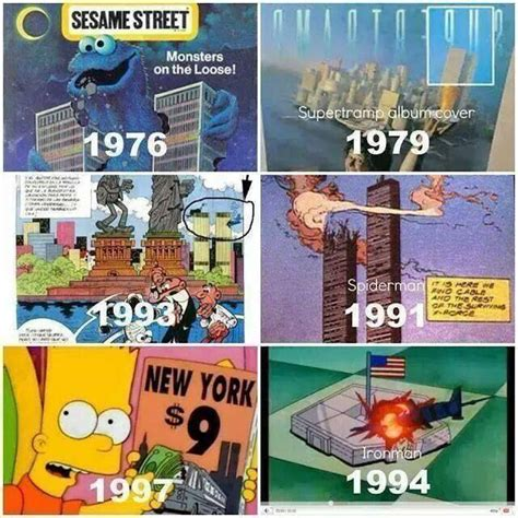 the simpsons 911 predict 9 11 prediction in various media illuminati symbols