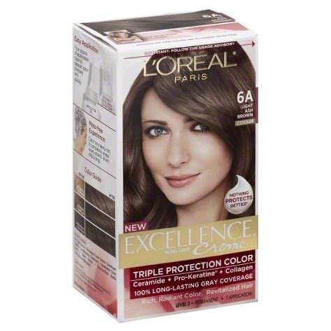 L Oreal Excellence l oreal excellence 6a light ash brown