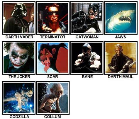 film villains quiz 100 pics movie villains answers lithos market ru