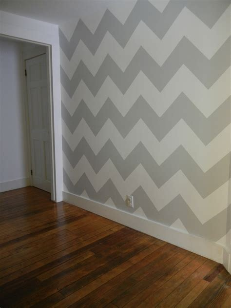 chevron walls home pinterest