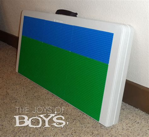 diy portable lego table how to make an easy lego table the joys of boys