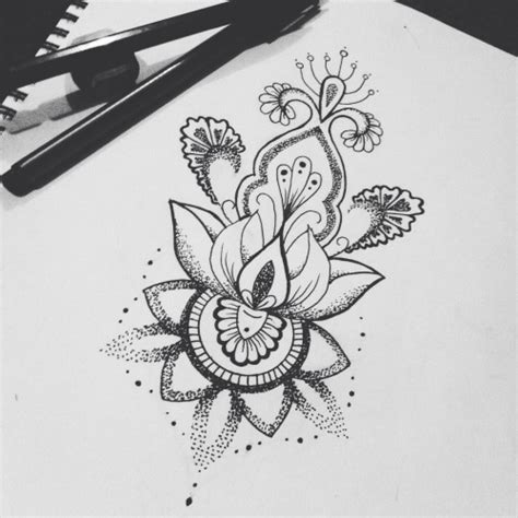 lotus flower tattoo tumblr lotus flower sternum