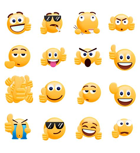 Smiley Sticker Free Download by Free Thumbs Up Emoji Sticker Android Apps On Google Play