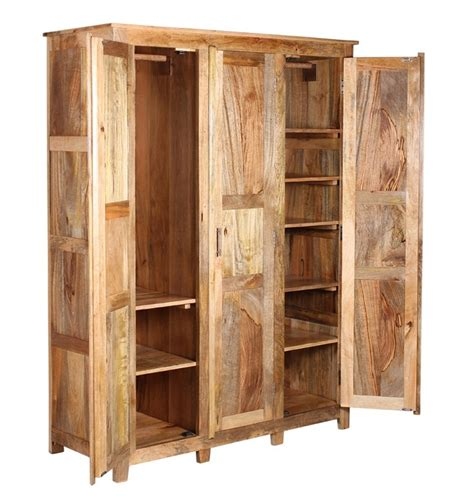 armadio legno naturale armadio etnico legno naturale armadi etnici su misura