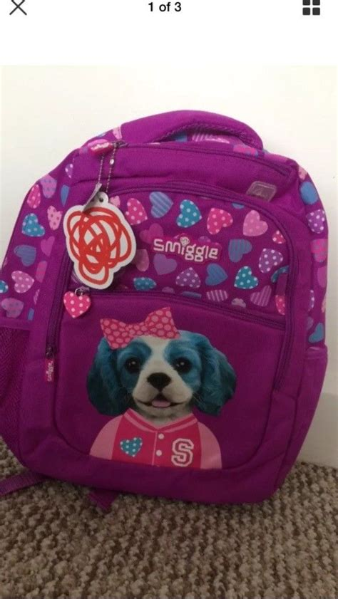 Smiggle Backpack Size bnwt larger size smiggle rucksack school bag in
