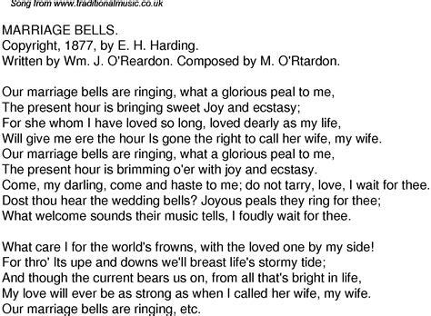 Wedding Bells Song by Wedding Rings