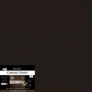 nuvo cabinet paint home depot nuvo 2 qt cocoa couture cabinet paint kit fg nu cocoa r