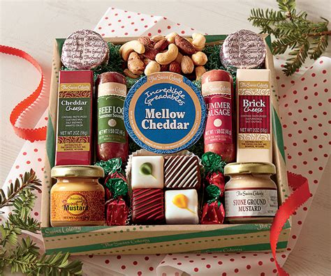 christmas food gift set food gifts from the swiss colony customer favorites