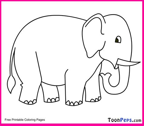 Elephant Picture For Kids Kids Coloring Europe Travel Guides Com Drawing For