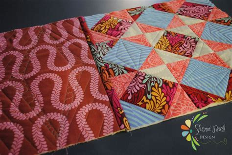 How To Put Together A Quilt by How To Join Quilt Blocks As You Go Tutorial