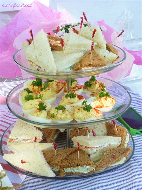 Tea Sandwiches For Baby Shower by Food Our Way To Eat