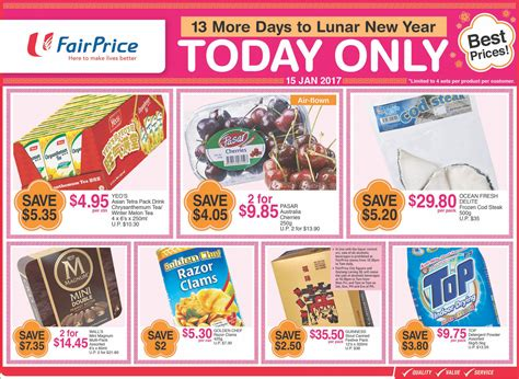 ntuc new year singapore ntuc fairprice singapore 13 more days to lunar new year