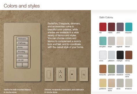 colored outlets colored electrical outlets and switches leola tips colored