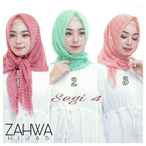 Jilbab Segi Empat Instan jilbab segi empat organza terbaru limited edition