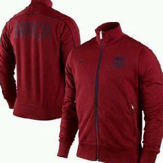Jaket Tracker Maroon Barcelona to kino jersey jaket barcelona merah maron 2012 2013 kod a057