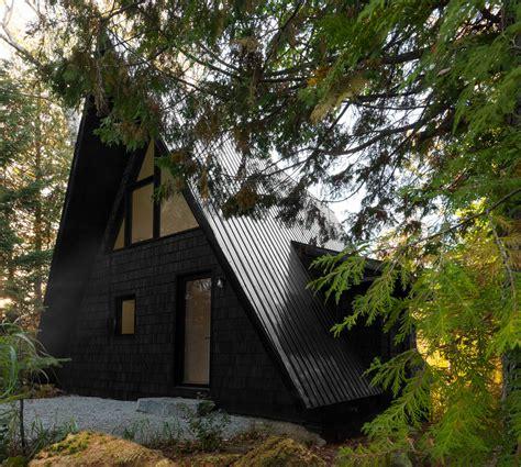 a frame house design jean verville architecte renovates a canadian a frame house design milk