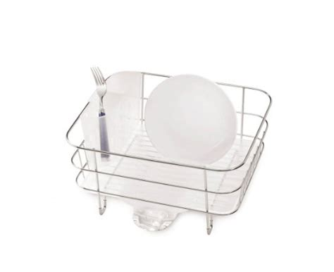 Simplehuman Compact Dish Rack Simplehuman Compact Wire Frame Dish Rack Stainless Steel