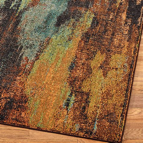 abstract rugs oxidation multicolored abstract area rugs