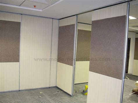 Interior Wall Design Acoustic And Glass Operable Walls Modwal Modern