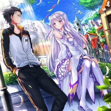 subaru and emilia married subaru x emilia amino