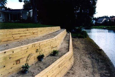 Landscape Timbers On A Hill 17 Best Ideas About Landscaping A Hill On How