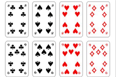 Vorlage Word Spielkarten Skatkarten Coreldraw Psd Tutorials De