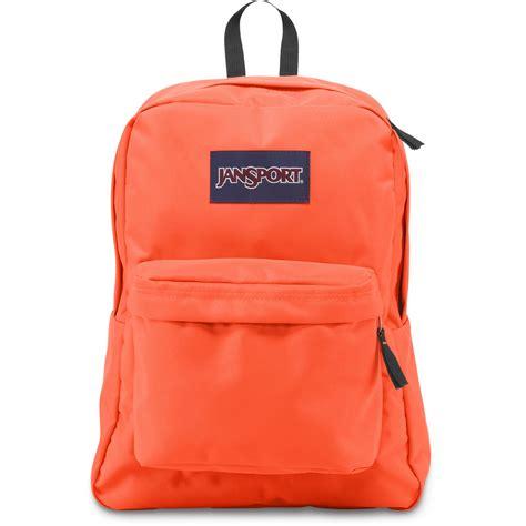 Backpack Jansport Kw 5 jansport superbreak 25l backpack tahitian orange js00t5010d5