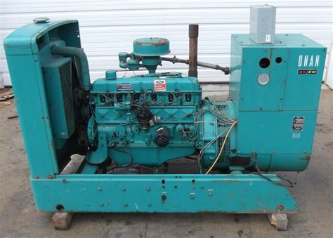 onan 45 kw gas generator 1 183 hrs daves