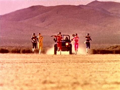 power rangers dans lespace