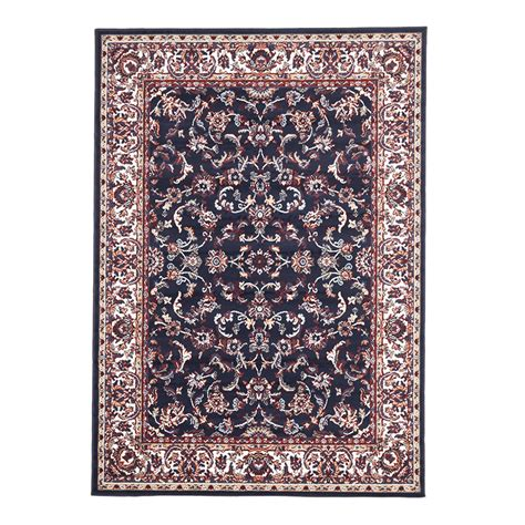 polypropylene rugs mira polypropylene rug blue 230x160cm traditional rugs the home