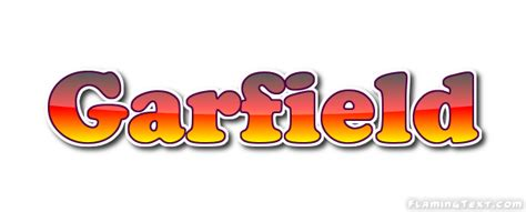 garfield name garfield logo free name design tool from flaming text