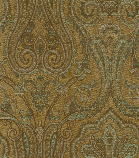 paisley upholstery upholstery fabric waverly clubroom paisley spa at joann com
