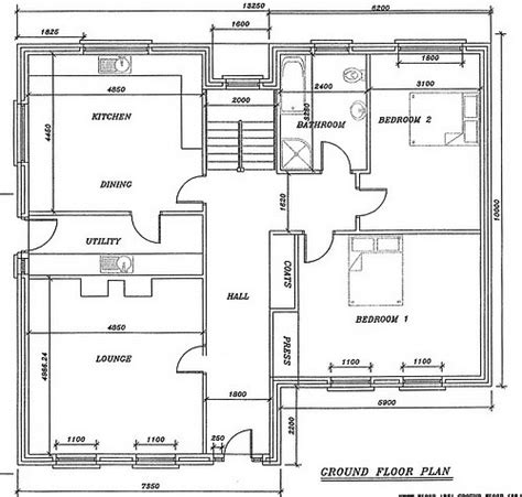 Site With Full Planning Permission For 2500 Sq Ft House 2500 Square Foot House Plans Ireland