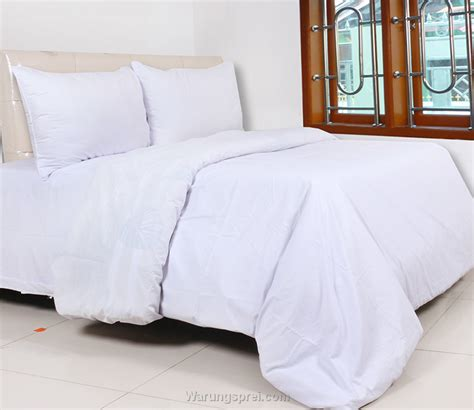 Sprei Dan Bed Cover Katun Polos Hijau Ukuran 180 X 200 sprei putih uk 160 t 20cm warungsprei