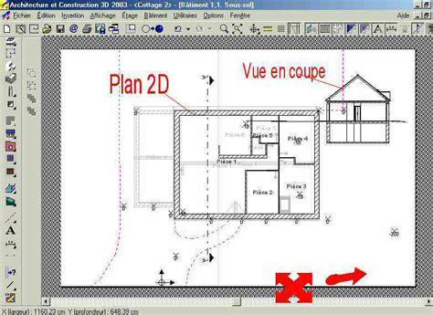 logiciel batiment 3d plan maison logiciel gratuit 2d